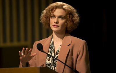 Rachel Weisz plays US academic Deborah Lipstadt in Denial