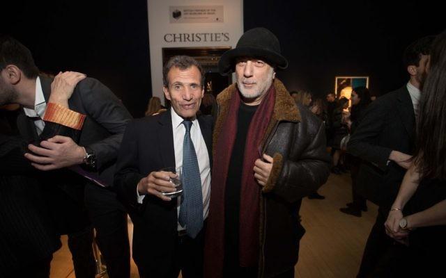 Poju Zabludowicz and Ron Arad