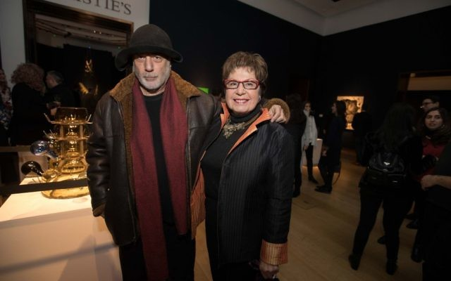 Ron Arad and Anke Aaadler-Slotke