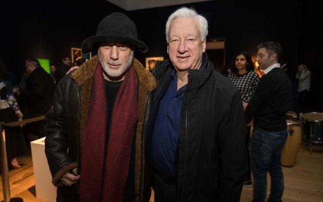 Ron Arad and Michael Craig-Martin