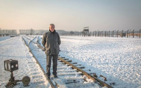 Archbishop of Canterbury Justin Welby during his landmark visit to Auschwitz in January 2017