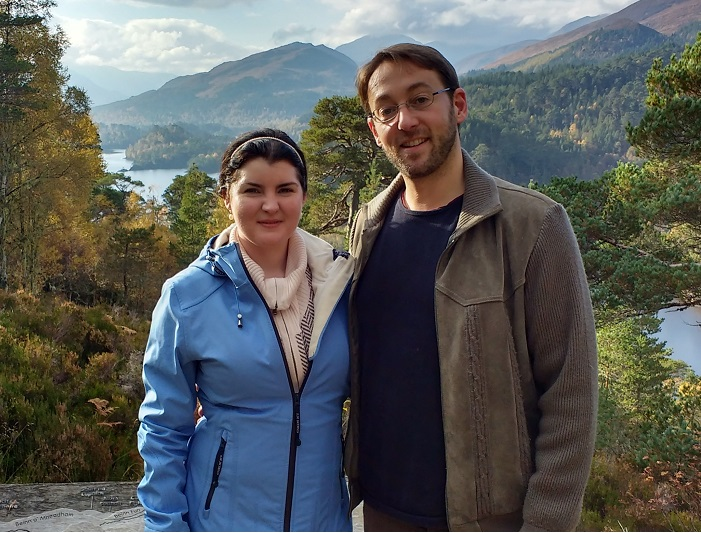 Mr and Mrs O at Glen Afric