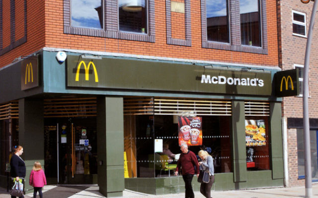 A McDonald's restautant in London.