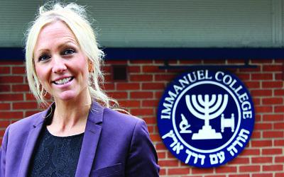 Beth Kerr, deputy head at Immanuel