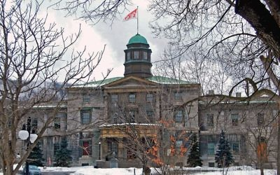 The Arts Building at McGill University