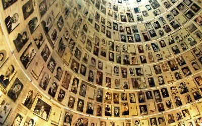 Yad Vashem's hall of names