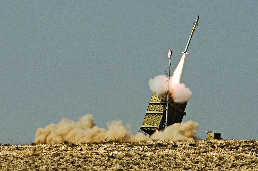 Israel's Iron Dome missile defence system