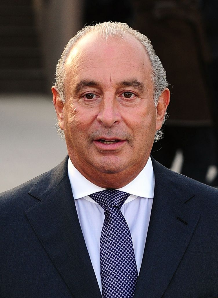 Sir Philip Green, who said he has paid £363 million to settle collapsed retailer BHS' pension schemes. (Photo credit: Ian West/PA Wire)
