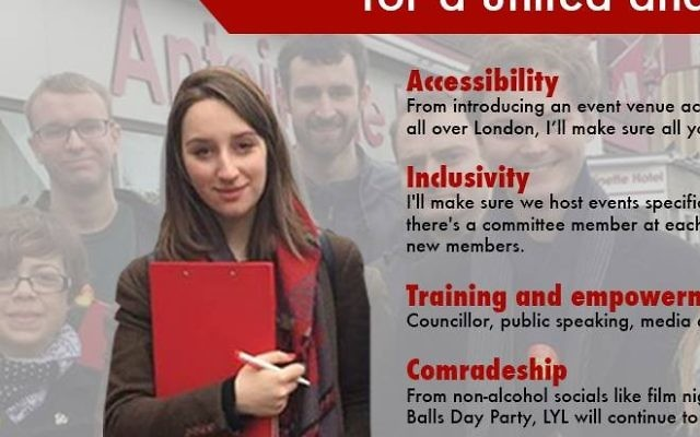 Miriam Mirwitch's campaign poster