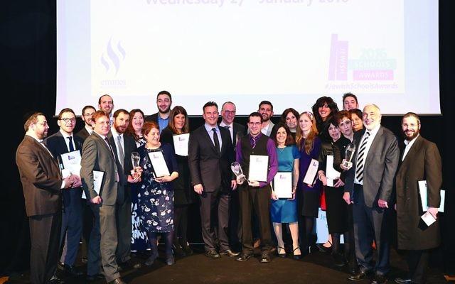 Jewish School Awards winners - 2016
