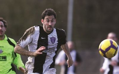 Alex Bourne scored twice as Raiders extended their lead at the top of Division One