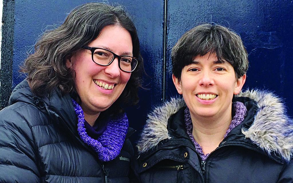 Authors Sarah and Rachel Hagger-Holt