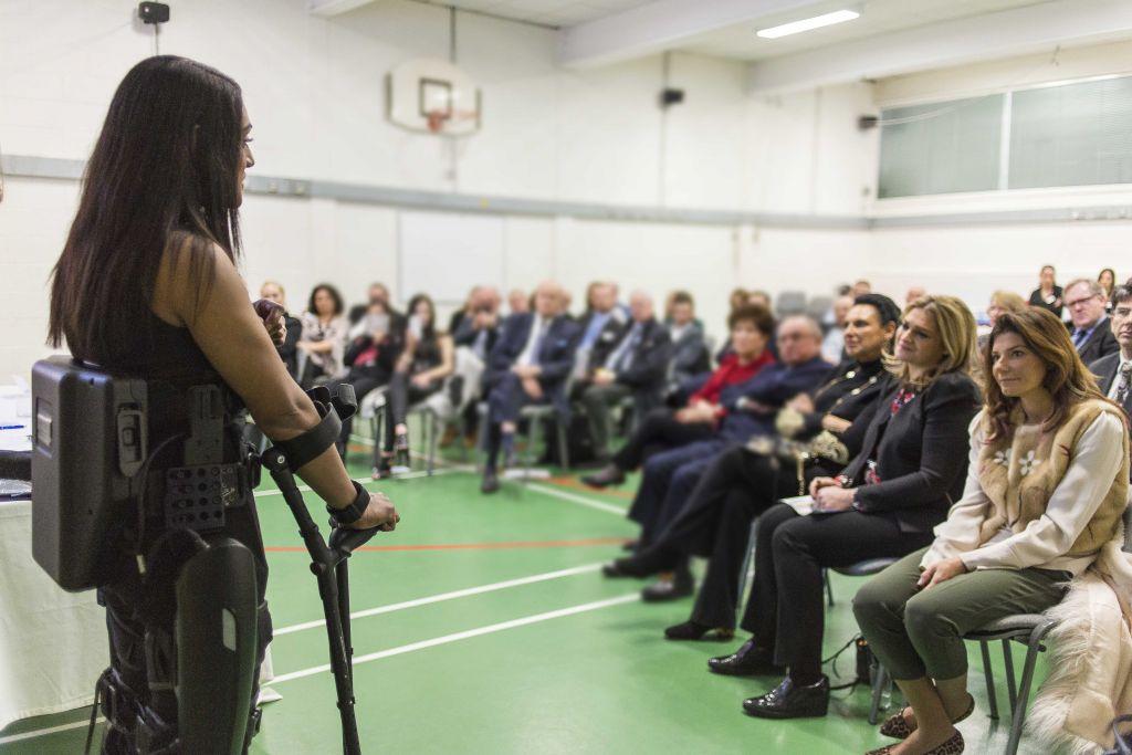 Nicki speaking to the audience (Photo credit: Jason Glass)