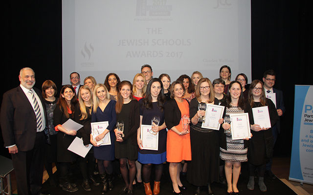 All the finalists came together at the end of the evening to celebrate their achievements  (Picture credit: Joel Seshold)