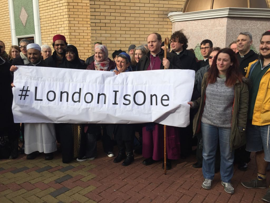 Jewish Christian and Muslim leaders unite at Wightman Road Mosque