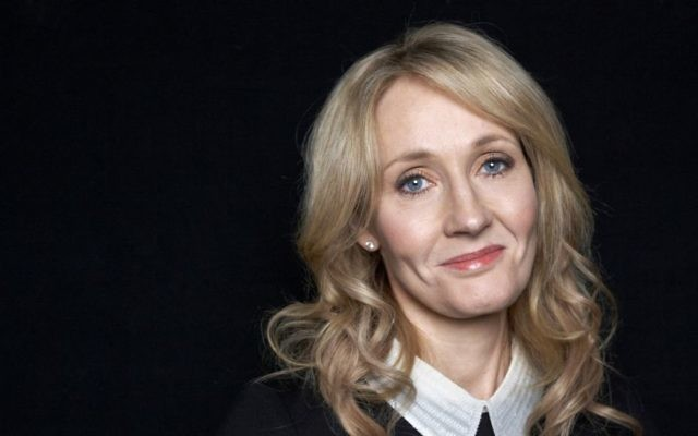 JK Rowling, author of Harry Potter books