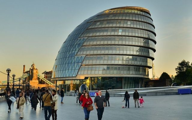 The London Assembly building, City Hall
