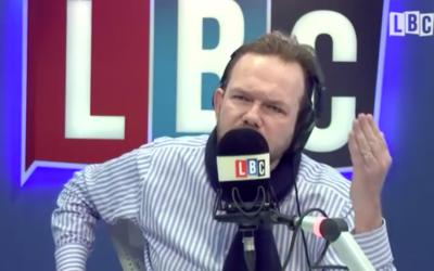 James O'Brien during his LBC show