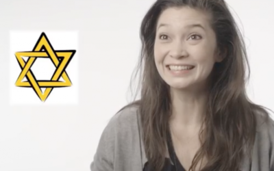 Right answer! One of the participants in the video finds out a quote is from Judaism, and a Star of David appears.