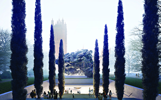Anish Kapoor and Zaha Hadid architects proposal is for the National Holocaust Memorial