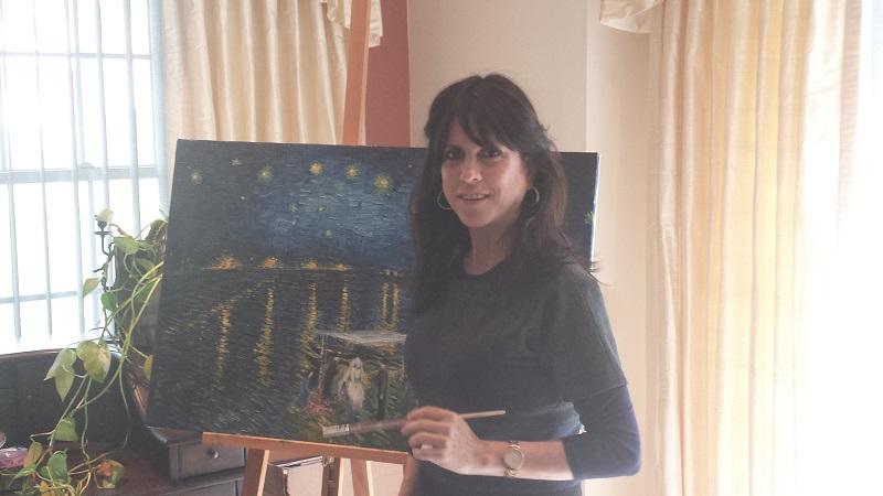 Artist Esty Frankel-Fersel