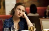 Lena Dunham in a scene from the first episode of Girls in 2012.