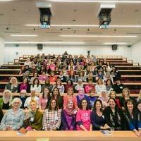 Jewish and Muslim women at the inaugural Nisa-Nashim conference.   (Picture credit: Yakir Zur)