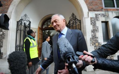 Ken Livingstone at Church House, Westminster, London, for his disciplinary hearing where he faced a charge of engaging in conduct that was grossly detrimental to the party following his controversial comments about Adolf Hitler. PRESS ASSOCIATION Photo. Picture date: Thursday March 30, 2017. Mr Livingstone was suspended in April last year after claiming that Hitler supported Zionism in the 1930s. See PA story POLITICS Livingstone. Photo credit should read: Lauren Hurley/PA Wire