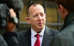 Jeremy Newmark   (Photo credit: Lauren Hurley/PA Wire)