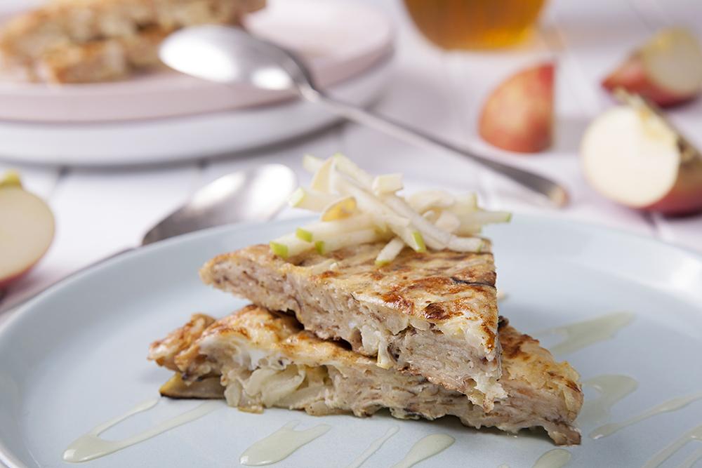 Apple Matzah Brei