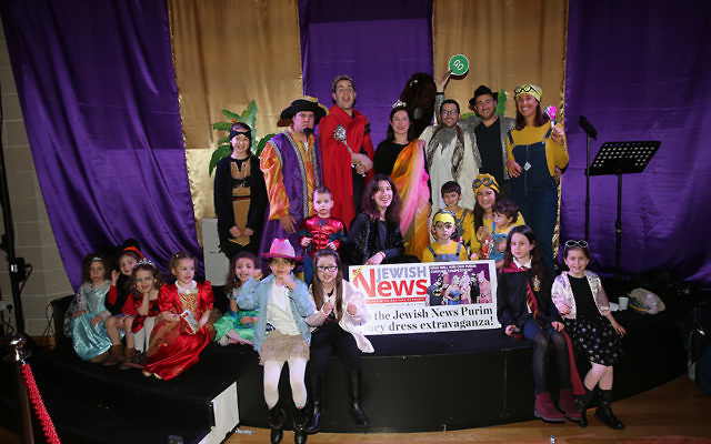 The Purim Panto at Mill Hill shul   Photo credit: Marc Morris Photography