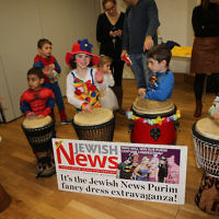 Mill Hill Synagogue Purim celebrations   Photo credit: Marc Morris Photography