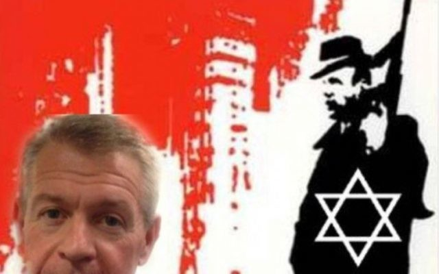 """Tweet from @1UnionBloke  - carried an image referring to """"Jewish mafia"""" accompanied with the words: """"Be warned @gerard_coyne has backing now!! @UniteforLen."""""""