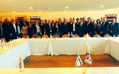 UK Trade Minister meets Israeli business leaders in March 2017