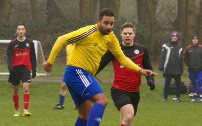Danny Daggers scored twice for London Lions A