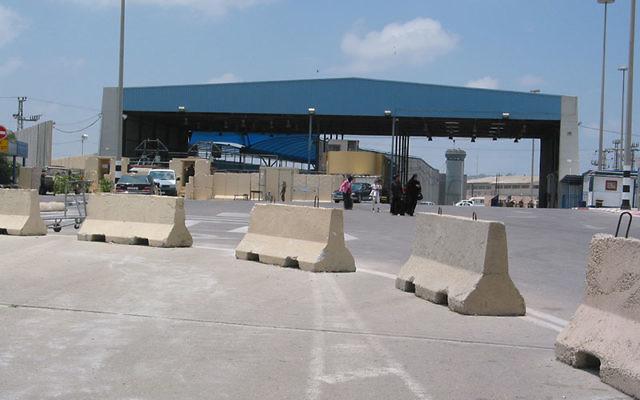 Erez Crossing between Israel and Gaza has been shut