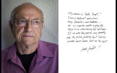 Holocaust Survivor Jack Jaget