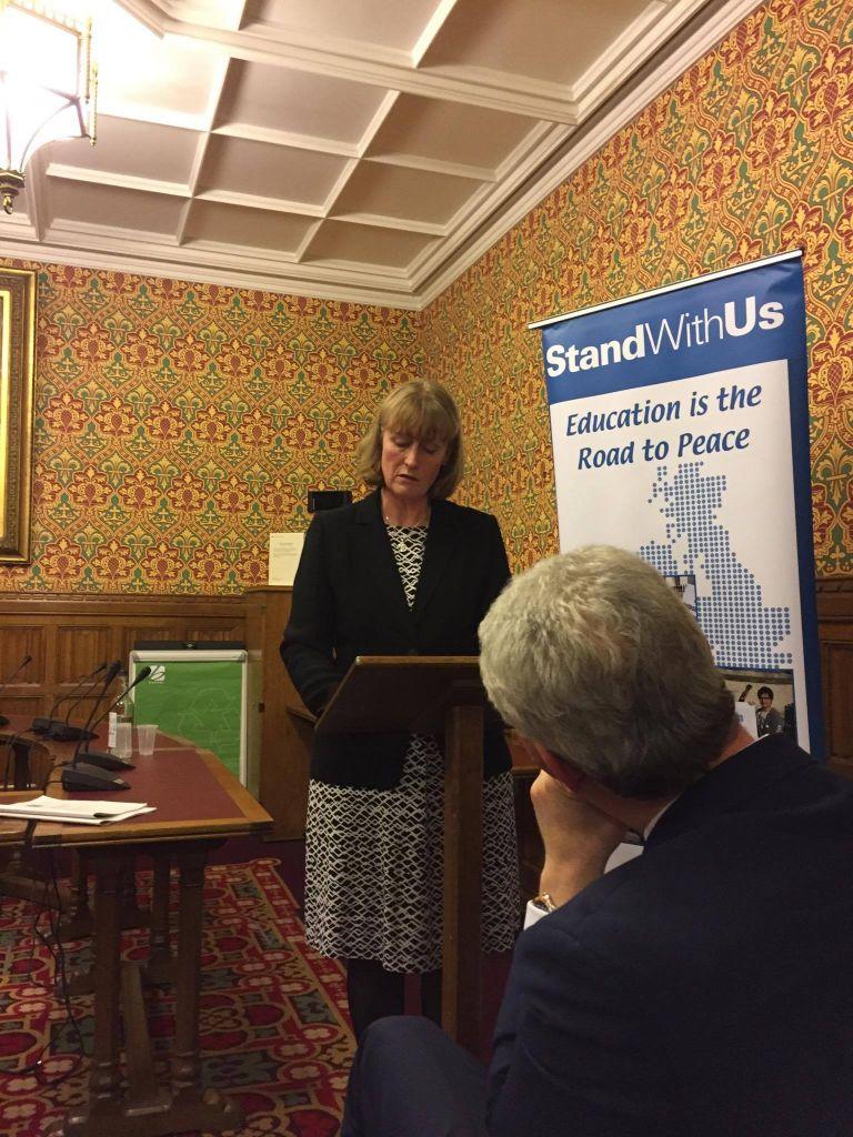Joan Ryan MP addressing the graduates