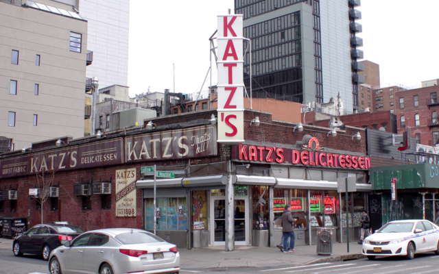 New York's iconic Katz's Deli.
