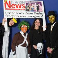 Mega Jump Purim celebrations with Tribe    Photo credit: Marc Morris Photography
