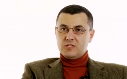 Omar Barghouti (Source: Screenshot from Youtube interview with the Guardian)