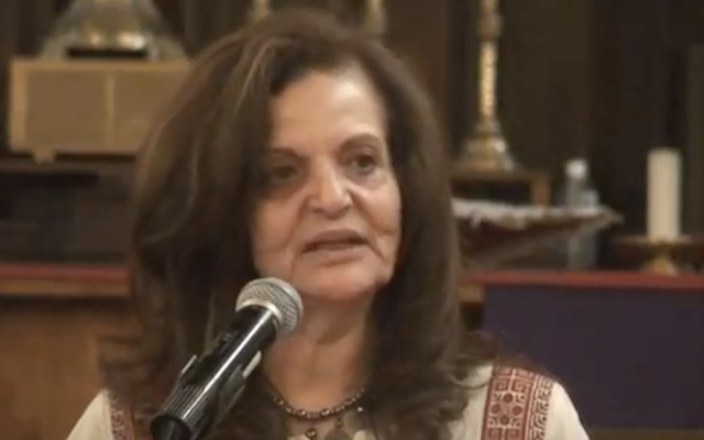 Rasmea Odeh (screenshot from youtube)