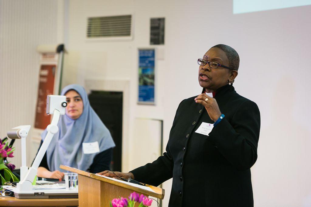 Revered Rose Hudson-Wilkin keynote address at the conference (Picture credit: Yakir Zur)