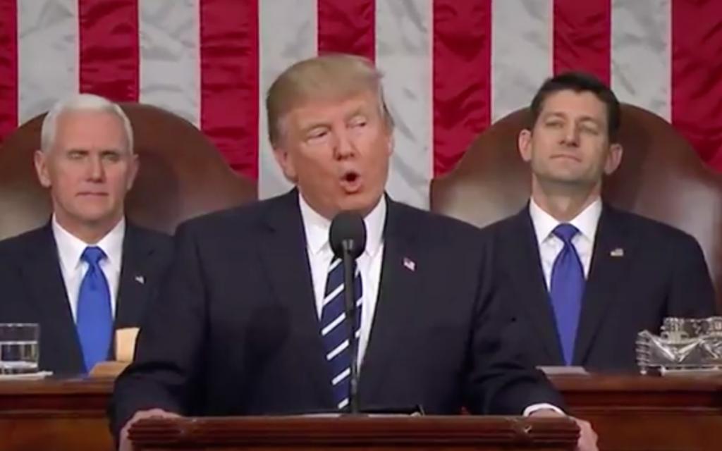 Donald Trump (Screenshot from Youtube)