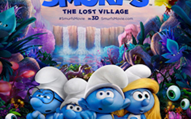 Smurfette is pictured on the right