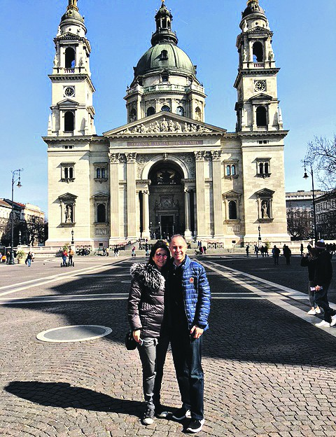 At St Stephen's Basilica