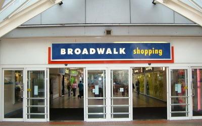 The Broadwalk shopping centre in Edgware