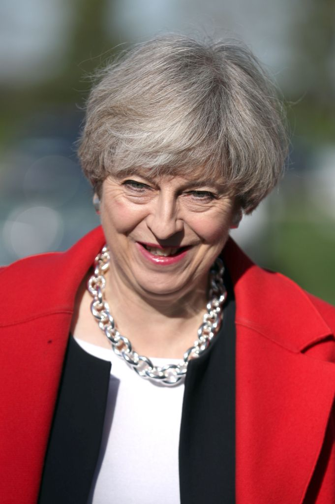 Prime Minister Theresa May Photo credit should read: Chris Radburn/PA Wire