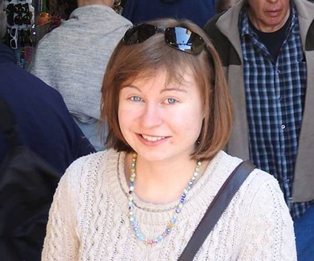 Photo issued by the Foreign & Commonwealth Office of the young British tourist Hannah Bladon who was stabbed to death in Jerusalem on Good Friday. (Photo credit: FCO/PA Wire)