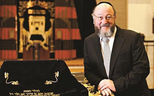 Chief Rabbi Mirvis